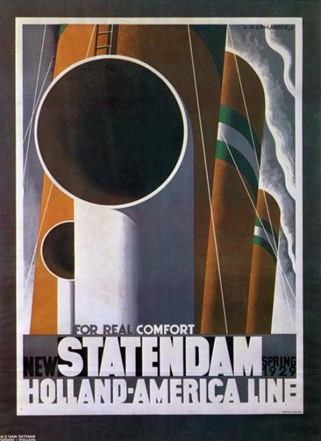 A.M. Cassandre_New Statendam_ 1928